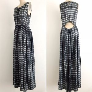 ANTHROPOLOGIE | NEUW Tie Dye Cutout Maxi Dress